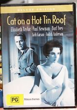 Cat On A Hot Tin Roof DVD Movie 1958 Elizabeth Taylor Paul Newman 50s Classic