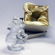 Bomboniera Profumatori Profumatore con fiori in cristallo e punti luce