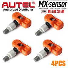 4x Autel MX-Sensor 433MHz car Programmable Universal TPMS sensor Tire Pressure
