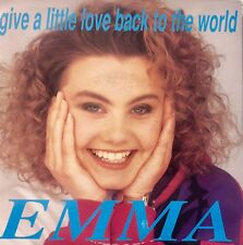 Eurovision UNITED KINGDOM 1990 EMMA Give A Little Love Back To The World 7""