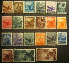 REPUBBLICA 1946 DEMOCRATICA 21 VALORI NUOVI MNH **