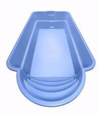 GFK Schwimmbecken, Hersteller, Einbaubecken (Römische Trep) 6,0mx3,0mx1,5m, Pool