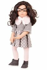 "Gotz Luisa Happy Kidz 19.5"" Poseable Multi-Jointed Limited Edition Brunette D."