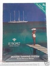 3 STEP ST.TROPER MOUSSE TANNING SYSTEM BODY POLISHER MOITURIZER WHIPPED BRONZE