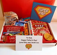 Personalised Father's Day Gift Box Hamper Present - Daddy Dad Grandad Best Dad