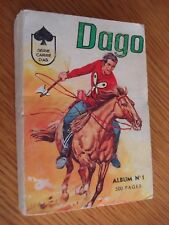 LUG ALBUM DAGO N°1 SERIE CARRE D'AS AVEC LES N°1 AU 4 DE 1965 TBE