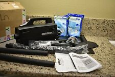 Oreck XL BB880-AD Black Hand/Rolling Canister Vacuum Cleaner w/Accessories Bags