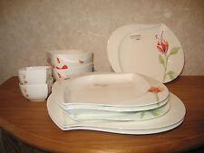 HUTSCHENREUTHER *NEW* GOURMET SHALIMA Set 10 pièces / assiettes/plates+plats