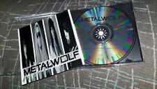 Metalwolf S/T PA indie 1993 Cd Release Heavy Metal Hair Power 1340 orig