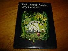 TERRY PRATCHETT-THE CARPET PEOPLE-SIGNED-1ST-1971-HB-VG-COLIN SMYTHE-ULTRA RARE