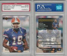 2000 Collectors Edge Football, #109 Travis Taylor, Florida, PSA 10 Gem