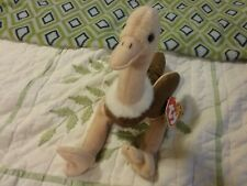 Ty Beanie Baby Stretch the Ostrich Beanbag Tags Toy Plush