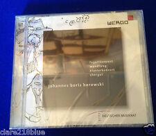 NEW SEALED - Johannes Boris Borowski Deutscher Musikrat Zeigenossische Musik 2CD