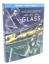 Glass [2019] Blu-ray+Dvd+Digital & Slipcover M. Night Shyamalan