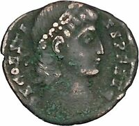 Constans Gay Emperor Constantine the Great son Roman Coin Success Wreath i42698