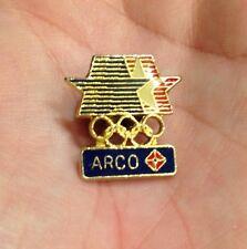RARE! 1984 ARCO GASOLINE SERVICE STATION TRANSPORTATION LAPEL HAT TIE GAS PIN