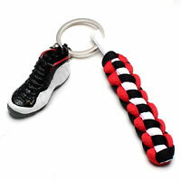 3D Mini Sneaker Shoes Keychain Prm Olympic With Strings for Air Foamposite One