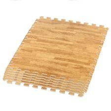 16 (64 SQ FT)Interlocking EVA Soft Foam WoodEffect Mats Gym KidsPlay Floor Tiles