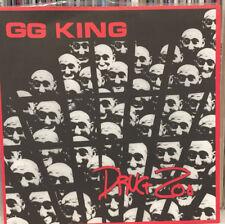 "GG KING DRUG ZOO 7"" vinyl garage punk carbonas goner in the red terminal boredom"