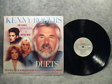 33 RPM LP Record Kenny Rogers Duets 1984 Liberty Records LO-551154 Very Good+