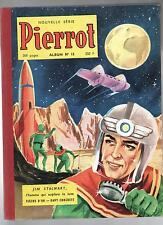 PIERROT album éditeur 15.Nouvelle série n°7 à 11 de 1957.Très bel état