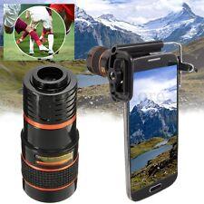 Telescopio Cellulare 8X Lens Zoom Optical Telescope for Smart Phone Ipone Camera