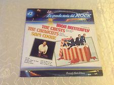"LA GRANDE STORIA DEL ROCK 42 (LP) ""IRON BUTTERFLY/ CRESTS/ CREWCUTS/ SAM COOKIE"""