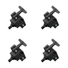 Rhino Mini Clamp Truss & Narrow Lighting Stand Clamp - Pack of 4