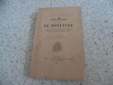 1901.Histoire généalogique famille Boylesve.Paul de Farcy