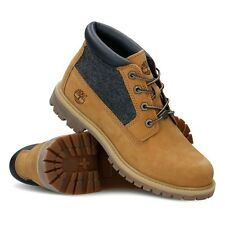 Timberland Earthkeepers Womens UK 6 W/L Wide Nellie Chukka Double Wheat Boots