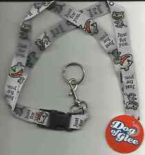 JIM BENTON DOG OF GLEE just for you 2006 LANYARD official merchandise IMPORT