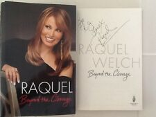Raquel Welch  SIGNED Book Autobiography Bombshell Mae West 3 Musketteers  HC/DJ