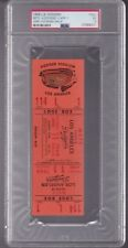 1968 LA DODGERS FULL TICKET vs NY METS PSA 5 HODGES KOOSMAN FIRST WIN rare 1/1