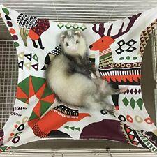 New listing Ferret Cat Hammock Bed for Cage 100% Handmade Pet Canvas Hammocks Small.