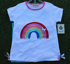 Beetle & Thread Girl's 3 Pcs Set Rainbow Happy Place Super Cute Outfit Size 6