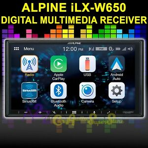 ALPINE iLX-W650 DIGITAL MULTIMEDIA RECEIVER APPLE CAR PLAY ANDROID AUTO BT