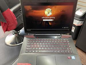 "Lenovo Gaming Y700 15.6"" Core i7-6700HQ 2.6GHz, 16GB RAM, 1TB HDD Plus 256GB..."