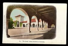 The Quad Leland Stanford Jr University College  Postcard