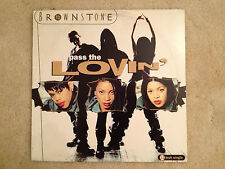 "BROWNSTONE ""Pass The Lovin"" 1994 EU Pressing 12"" Vinyl  MJJ Record Label EXC/VG"