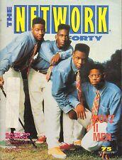 AUG 16 1991 THE NETWORK FORTY music magazine BOYZ II MEN