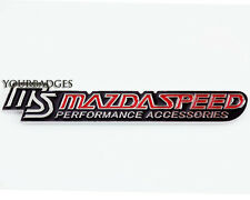 Metal Chrome Mazda Speed Performance Accessories Car Badge Mx5 RX8