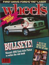 Wheels Apr 90 Pulsar VN Group A SS MX5 GT4 Celica Capri  News: - scoop Pulsar