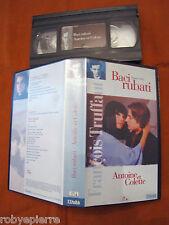 Film vhs videocassetta Baci rubati Antoine et Colette Truffaut Francois BIM