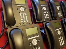 Lot of 11 Avaya 9620L Digital IP Office Business Phones w/accessories, pre-owned