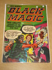 BLACK MAGIC VOL 2 #4 G/VG (3.0) CRESTWOOD COMICS JACK KIRBY MARCH 1952