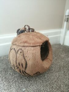 Coconut Bird House Unique Gift New