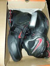 Nike Shox Elite TB Sz 12 Varsity Red-Chrome Noir/rpro-Chrome Very Good Condition