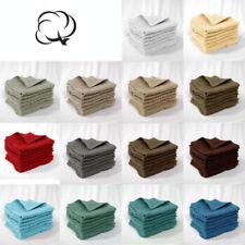 Unbranded Cotton Face Cloth Bath Towels & Washcloths