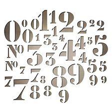 Sizzix Tim Holtz Thinlits - Stencil Numbers - 38 Dies
