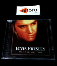 ELVIS PRESLEY The 20 Greatest Hits CD MUSICA Nuevo Precintado New Sealed